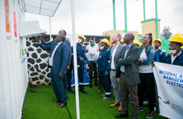 Creating Employment for Rwandan Youth and Women through Sustainable E-waste Management
